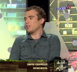 """David Cervelló en """"La nit del lloro"""""""